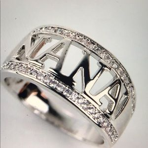 Sterling Silver Nana Ring